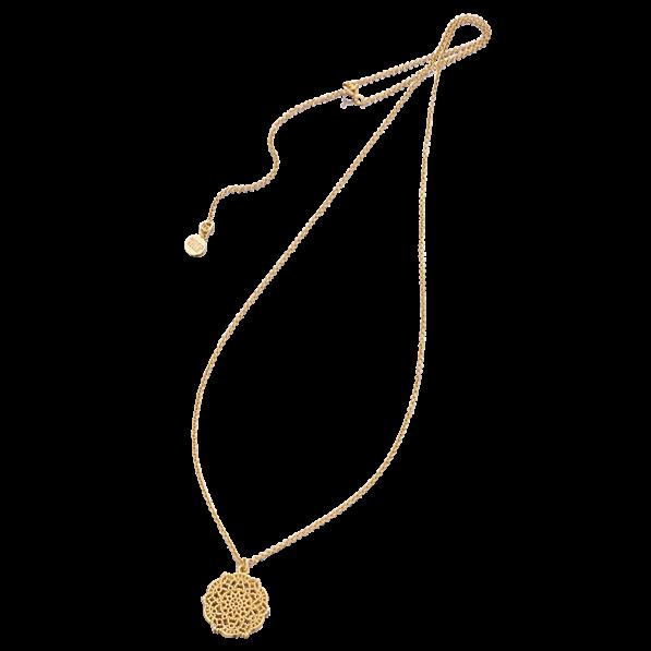 Necklace with Estella rosette