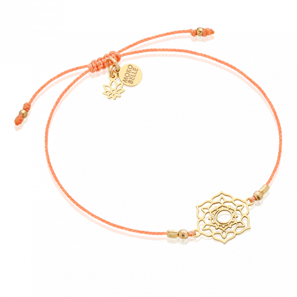 Bracelet with sacral chakra